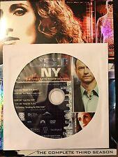 CSI: NY – Season 3, Disc 1 REPLACEMENT DISC (not full season)
