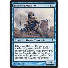 MTG Halimar Excavator NM - Worldwake