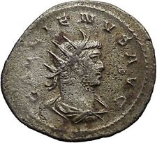GALLIENUS  Billon Silver Ancient  Roman Coin Farnese Hercules  i46276