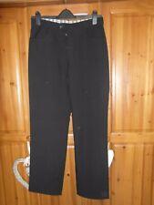 Full Circle mens black work/formal trousers Size W32 R/L31
