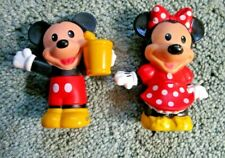 """New listing Fisher Price Little People~ Replacement Mickey Mouse And Minnie~3"""" High"""
