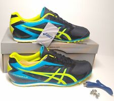 NEW Asics Hyper LD 5 Mens Track and Field Running Shoes with Metal Spikes