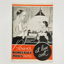 Power Homecraft Tools J & H Metal Products Advertising Catalog Rochester NY