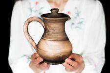 Grecian ceramic pitcher Greek jug Water ewer Juice jug Wine jug