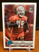 2019 Donruss Optic Devin White RC Rated Rookie Base Buccaneers #192 CENTERED
