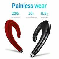 2021 Bone Conduction Headphones Ear Hook Wireless Bluetooth Earphone Waterproof