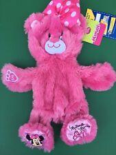 Build a Bear Full Size Disney Pink Minnie Mouse Bear II Plush Toy -UNSTUFFED-NEW