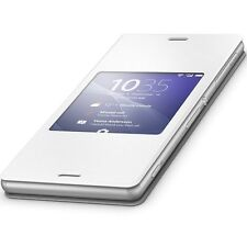 Genuine Sony SCR24 White Cover Window Case Xperia Z3 Original 1287-5640