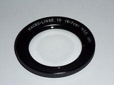 Macrolinse +10   E55  55mm