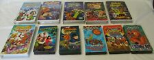Lot 11 Scooby-Doo VHS Headless Vampire Werewolf Mexico Ghoul Monster Mysteries