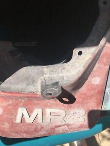 Toyota MR2 Rear Mud flaps Splash Guard Trim