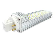 Lámpara LED PLC GX24 G24 4 Pines 12W 220V Bianco Caliente Con 60 Smd 2835