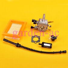 Carburetor Air Filter Fuel Line filter For Stihl FS120 FS200 FS250 WEEDEATER