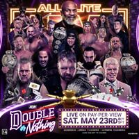 AEW All Elite Wrestling DOUBLE OR NOTHING 2020 DVD