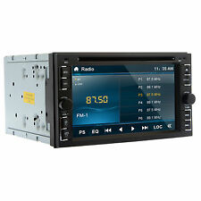 HD TFT 2DIN Car Stereo DVD Player Bluetooth SWC FM USB SD iPod MP3 TV 6.2inch