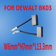 Carbon Brushes For Dewalt Grinder  Sander 24863 Type 1 Palm