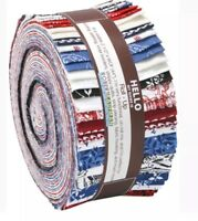 """JELLY ROLL/Roll-Up """"Classic Minis"""" By Darlene Zimmerman~For Robert Kaufman~ HTF"""