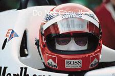 NIKI LAUDA McLaren MP4/2 Winner Italian Grand Prix 1984 fotografia 2