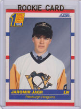 JAROMIR JAGR ROOKIE CARD 1990 Score NHL RC Hockey Pittsburgh Penguins DRAFT PICK