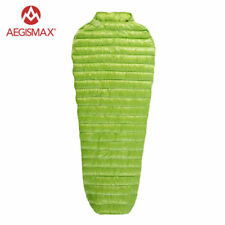 AEGISMAX Mummy 95% Goose Down Sleeping Bag Portable Splicable 20D Nylon 800 FP