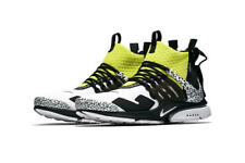 Nike x Acronym Air Presto Mid Size 9 Dynamic Yellow Black White Men Shoe