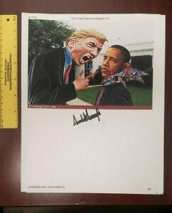 Donald Trump Signed Full Signature Autograph , 45th president