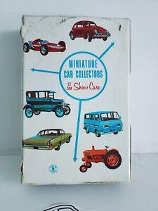 1966 Mattel Miniature Car Collectors 12 Car Show Case