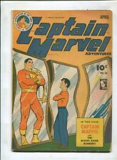 CAPTAIN MARVEL ADVENTURES #45 (4.5) THE BLOOD BANK ROBBERS