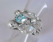 Blue Moonstone Fine Rings