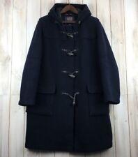Vintage Gloverall Women's Navy Blue Duffle Coat Ladies Jacket GB 18 XL Oversized