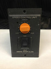 Oriental Motor Speed Control Unit US206-01T
