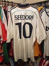 Real Madrid Football Shirt 1998/00 Home XL ~ Seedorf 10