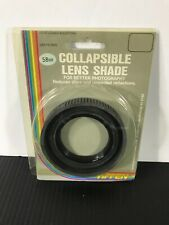 TIFFEN COLLAPSIBLE LENS SHADE 58MM (VERY GOOD-GREAT CONDITION!)