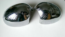 MINI MIRROR COVERS CHROME EFFECT X2 FIT COOPER S CLUBMAN ONE JCW R56 (RHD ONLY)