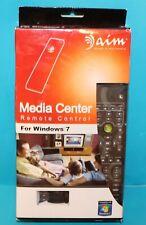 aim Media Center MCE RC118 IR Remote Control w/ Receiver for Windows 7