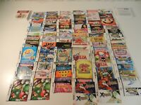 Lot of 93 Nintendo DS & 3DS Game Manuals / Instructions + Extras - NO GAMES