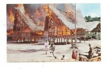 """SURINAME vintage post card Greetings and Movie Scene from """"The Spiral Road"""""""