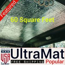1941 - 1948 Chevrolet 60 SqFt UltraMat Heat & Sound Barrier 60 12 x 12 Tiles