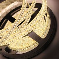 WARM WHITE 5M 16.4FT 600 LED 3528 SMD FLEXIBLE LED LIGHT LAMP STRIP DC 12V DIY