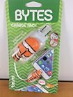 Tzumi Bytes Phone Cable & Wall Protectors Charge Pack Nemo Clown Fish