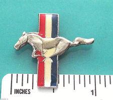 MUSTANG logo  -  hat pin , lapel pin , tie tac , hatpin GIFT BOXED  (GA)