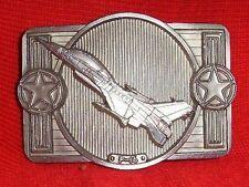 F-16 AIR FORCE FIGHTER BELT BUCKLE TOP GUN BUCKLES