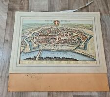 Antique 12 Prints Album Vienna/Germany 1598 - 1649 Topography