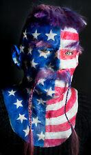 "Silicone Mask ""American Viking John"" Hand Made, Halloween High Quality Realistic"