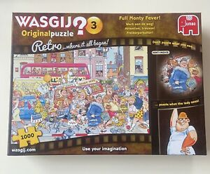 WASGIJ Full Monty Fever Original 3 Retro 1000 Piece Jigsaw Puzzle - COMPLETE