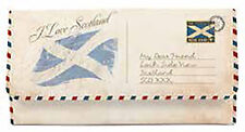 Scottish I Love Scotland Saltire Flag Ladies Long Purse Wallet