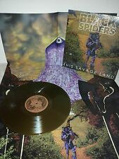 LP BLACK SPIDERS - THIS SAVAGE LAND - GOLD - NUOVO  NEW
