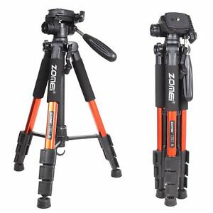 "ZOMEI Q111 55"" Tripod Light Weight Travel Portable Folding For DSLR Camera Photo"