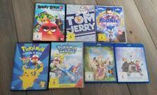Kinderfilme DVD und Bluray 7 Stk Pokemon Sonic Eiskönigin