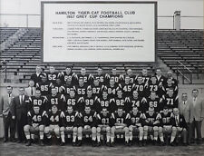 Hamilton Tiger-Cats - 1957 Grey Cup Champions, 8x10 B&W Team Photo